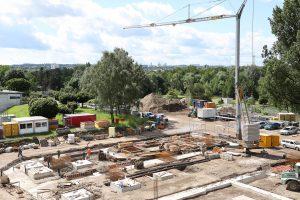 Matern Architekten · Architektur + Innenarchitektur · Baustelle · Zukunftsmeile 2 Paderborn